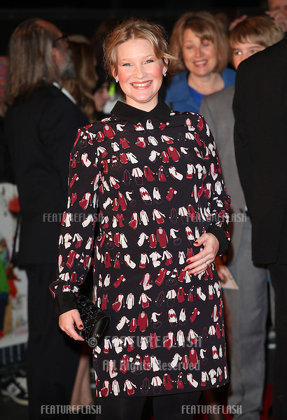 Joanna Page arriving for the Nativity 2: Danger In The Manger Premiere, at Empire Leicester Square, London. 13/11/2012 Picture by: Alexandra Glen / Featureflash