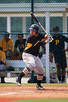 Pittsburgh Pirates Jin-De Jhang (35) during an instructional league intrasquad black and gold game on September 18, 2015 at Pirate City in Bradenton, Florida.  (Mike Janes/Four Seam Images)