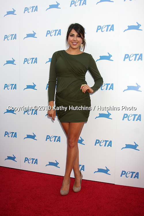 LOS ANGELES - SEP 25:  Daniella Monet arrives at the PETA 30th Anniversary Gala at Hollywood Palladium on September 25, 2010 in Los Angeles, CA