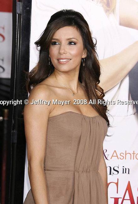 "Actress Eva Longoria Parker arrives at the Premiere Of Fox's ""What Happens In Vegas"" on May 1, 2008 at the Mann Village Theatre in Los Angeles, California."