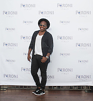 Eddie Watkins attends the Gia Coppola & Peroni Grazie Cinema Series Cocktail Reception at Skybar at the Mondrian on July 28, 2015 (Photo by Inae Bloom/Guest of a Guest)