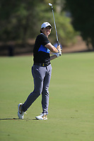 Rory McIlroy (NIR) on the 1st fairway during the 3rd round of the DP World Tour Championship, Jumeirah Golf Estates, Dubai, United Arab Emirates. 23/11/2019<br /> Picture: Golffile | Fran Caffrey<br /> <br /> <br /> All photo usage must carry mandatory copyright credit (© Golffile | Fran Caffrey)
