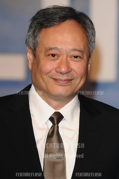 "Ang Lee arriving for the ""Life of Pi"" premiere at the Empire, Leicester Square, London. 03/12/2012 Picture by: Steve Vas / Featureflash"