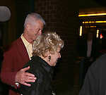 Martin von Haselberg and Bette Midler attends the Off-Broadway opening Night Performance After Party for 'Billy & Ray' at the Vineyard Theatre on October 20, 2014 in New York City.