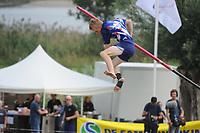 FIERLJEPPEN/POLSTOKVERSPRINGEN: 26-08-2017 Jaarsveld, Nederlands kampioenschap, Freark Kramer, ©foto Martin de Jong