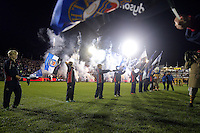 A general view of the pre-match Guard of Honour. Aviva Premiership match, between Bath Rugby and Bristol Rugby on November 18, 2016 at the Recreation Ground in Bath, England. Photo by: Rogan Thomson / JMP for Onside Images