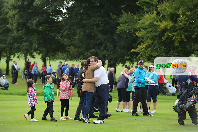 Ulster Mixed Foursomes Final, Shandon Park Golf Club, Belfast. 19/08/2016<br /> <br /> Picture Jenny Matthews / Golffile.ie<br /> <br /> All photo usage must carry mandatory copyright credit (&copy; Golffile | Jenny Matthews)