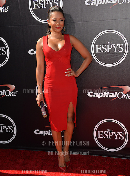 Mel B at the 2015 ESPY Awards at the Microsoft Theatre LA Live.<br /> July 15, 2015  Los Angeles, CA<br /> Picture: Paul Smith / Featureflash