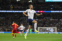 Harry Kane of England celebrates his hat-trick after scoring to make it 5-0 during the UEFA Euro 2020 Qualifying Group A match between England and Montenegro at Wembley Stadium on November 14th 2019 in London, England. (Photo by Matt Bradshaw/phcimages.com)<br /> Foto PHC Images / Insidefoto <br /> ITALY ONLY
