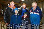 The hard working volunteers at at the Ballyduff Coursing on Sunday.<br /> L-r, Patsy O'Rourke, Dean White, Anthony Houlihan, John Hamill and James Harrington.