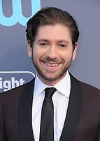 11 January 2018 - Santa Monica, California - Michael Zegen. 23rd Annual Critics' Choice Awards held at Barker Hangar. <br /> CAP/ADM/BT<br /> &copy;BT/ADM/Capital Pictures