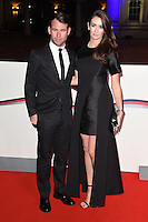 Mark and Peta Cavendish<br /> at the Millies 2016, Guildhall, London.<br /> <br /> <br /> &copy;Ash Knotek  D3212  14/12/2016