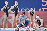 TROOST Arno GER Germany Coach Time out <br /> Budapest 13/01/2020 Duna Arena <br /> GERMANY (white caps) Vs. NETHERLANDS (blue caps)<br /> XXXIV LEN European Water Polo Championships 2020<br /> Photo  © Andrea Staccioli / Deepbluemedia / Insidefoto