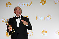 ***FILE PHOTO**  Louis C.K. Film Premiere Cancelled Amid Sexual Misconduct Allegations<br /> <br /> LOS ANGELES, CA - AUGUST 25: Louis C.K. in the press room at The 66th Primetime Emmy Awards held at Nokia Theater L.A. LIVE in Los Angeles, CA on August, 25, 2014.   <br /> CAP/MPI/DE<br /> &copy;DE/MPI/Capital Pictures