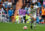 Real Madrid CF's Marco Asensio during La Liga match. April 21, 2019. (ALTERPHOTOS/Manu R.B.)