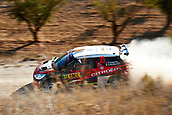 6th October 2017, Costa Daurada, Salou, Spain; FIA World Rally Championship, RallyRACC Catalunya, Spanish Rally; Simone Tempestini of Romania and his co-driver Giovanni Bernacchini of Italy in their Citroen DS3 R5 Gekon Racing Team during the Terra Alta Stage