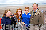 Ciara, Maria, Seamus and James O'Doherty (Rathmore) pictured at Glenbeigh races on Sunday last.