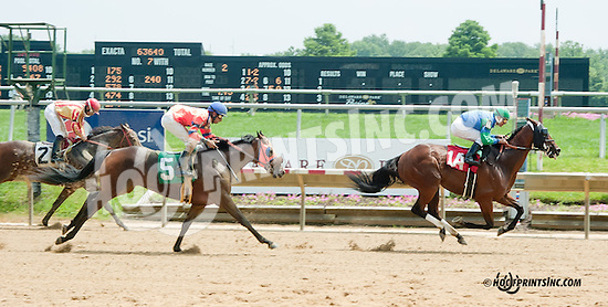 winning at Delaware Park on 7/10/13