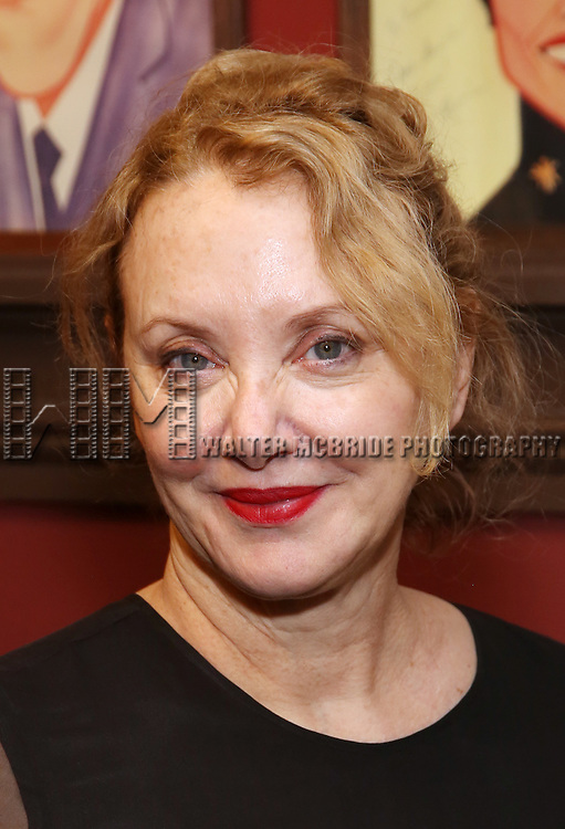 J Smith Cameron attends the unveiling of the Kenneth Lonergan caricature at Sardi's on February 17, 2017 in New York City.
