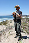Park Ranger Ziad B. at Ano Nuevo State Park
