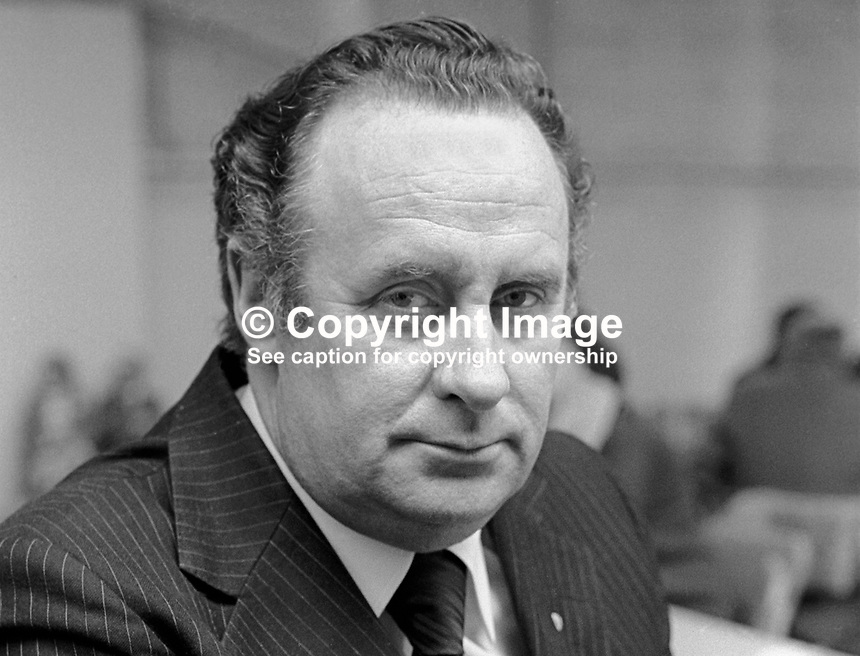 Paddy Harte, TD, Fine Gael, spokesman, security, N Ireland matters, Rep of Ireland, 197805000165PH3..Copyright Image from Victor Patterson, 54 Dorchester Park, Belfast, United Kingdom, UK...For my Terms and Conditions of Use go to http://www.victorpatterson.com/Victor_Patterson/Terms_%26_Conditions.html