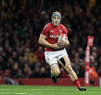Wales' Jonathan Davies<br /> <br /> Photographer Simon King/CameraSport<br /> <br /> International Rugby Union - 2017 Under Armour Series Autumn Internationals - Wales v Australia - Saturday 11th November 2017 - Principality Stadium - Cardiff<br /> <br /> World Copyright &copy; 2017 CameraSport. All rights reserved. 43 Linden Ave. Countesthorpe. Leicester. England. LE8 5PG - Tel: +44 (0) 116 277 4147 - admin@camerasport.com - www.camerasport.com