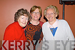 Mary O'Carroll, Margaret Crean and Mary O'Brien,  pictured at St Johns bazaar, held in the KDYS on Saturday evening.