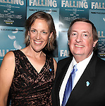 Director Lori Adams and Producer Terry Schnuck attending the Off-Broadway Opening Night Performance After Party for 'Falling' at Knickerbocker Bar & Grill on October 15, 2012 in New York City.