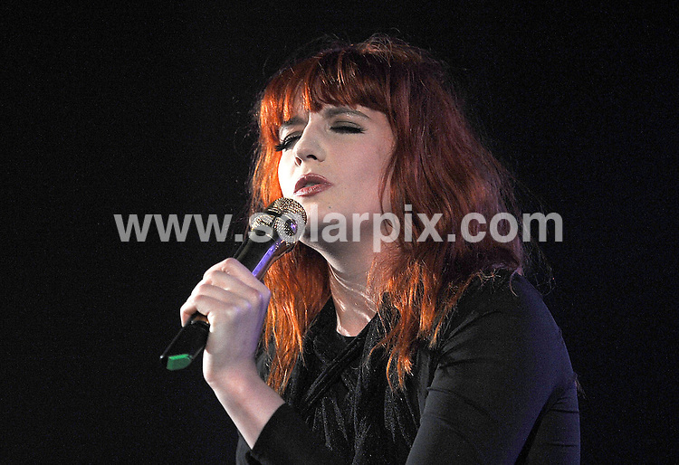 **ALL ROUND PICTURES FROM SOLARPIX.COM**.**WORLDWIDE SYNDICATION RIGHTS**.Florence and The Machine Play The Hammersmith HMV Apollo in London..This pic: Florence Welch..JOB REF: 11258       TLP      DATE: 14.05.2010.**MUST CREDIT SOLARPIX.COM OR DOUBLE FEE WILL BE CHARGED**.**MUST NOTIFY SOLARPIX OF ONLINE USAGE**.**CALL US ON: +34 952 811 768 or LOW RATE FROM UK 0844 617 7637**