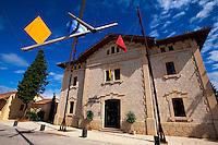Spanien, Mallorca, Centre d'Art d'Estancia im Bahnhof von Sineu