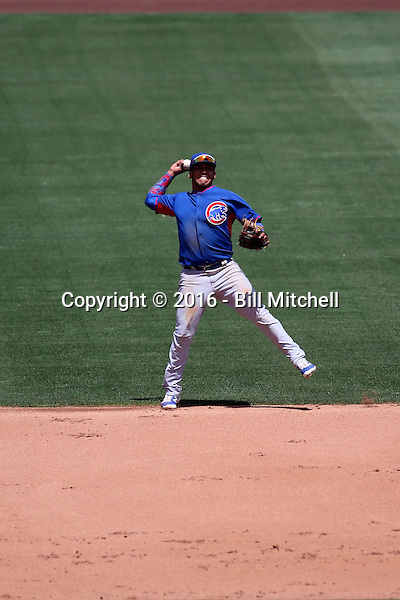 Isaac Paredes - Chicago Cubs 2016 extended spring training (Bill Mitchell)