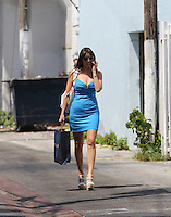 APRIL 25 2013.GISELLE BLONDET PASEANDO POR SOUTH BEACH.Exclusive.Mandatory Credit: OHPIX.COM..Ref: OH_SOL ++<br /> ©/NortePhoto