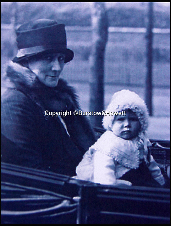 BNPS.co.uk (01202 558833)Pic: Burstow&Hewett/BNPS<br /> <br /> Clara Knight, the royal nurse who looked after Queen Elizabeth<br /> <br /> Five of the Queen's dolls and a selection of her childhood clothes have emerged for sale.<br /> <br /> The garments and toys were given to the former royal nurse Clara Knight who looked after Queen Elizabeth in her early years while the Queen Mother was undertaking ceremonial duties.<br /> <br /> There are approximately 20 garments in the collection including infants dresses and matching undergarments, many in silks and linen and some in early man made fabrics.