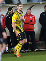 CELTIC'S CHARLIE MULGREW CELEBRATES AFTER HE SCORES THE THIRD