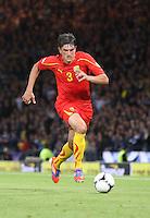 Goran Popov in the Scotland v Macedonia FIFA World Cup Qualifying match at Hampden Park, Glasgow on 11.9.12.