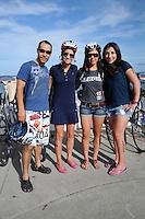 Triatlón Sports World Veracruz 2013- Juan Ramón Cázares, Mariana Ortuño, Berenice Mercado, Daniela Soler. ©NortePhoto.com ..<br /> YahirCeballos/NortePhoto