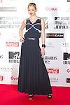 June 23, 2012, Chiba, Japan - Anna Tsuchiya poses on the red carpet during the MTV Video Music Awards Japan event. (Photo by Christopher Jue/AFLO)