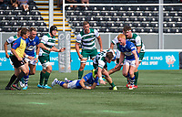 Peter Lydon of Ealing Trailfinders during the 2019/20 Pre Season Friendly match between Ealing Trailfinders and Bishop's Stortford at Castle Bar , West Ealing , England  on 24 August 2019. Photo by Alan  Stanford / PRiME Media images