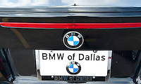 A new car at the BMW of Dallas, an AutoMotion Company, car dealership in Dallas, Texas, Thursday, February 17, 2011. Auto sales are going up because financing for auto loans has become available again...Photo by Matt Nager