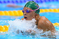 PICTURE BY ALEX BROADWAY /SWPIX.COM - 2012 London Paralympic Games - Day Eight - Swimming, Aquatic Centre, Olympic Park, London, England - 06/09/12 - Natalie Du Toit of South Africa competes in the Women's 200m Individual Medley SM9 Final.