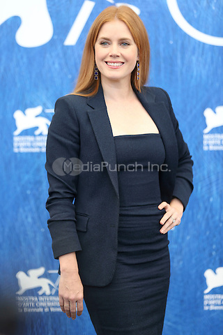Amy Adams attends the photocall of 'Nocturnal Animals' during the 73rd Venice Film Festival at Palazzo del Casino on September 2, 2016 in Venice, Italy.<br /> CAP/GOL<br /> &copy;GOL/Capital Pictures /MediaPunch ***NORTH AND SOUTH AMERICAS ONLY***