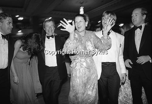 The annual Rose Ball, Grosvenor House Hotel, London. England 1982