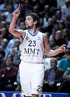 Real Madrid's Sergio Llull during Euroleague 2012/2013 match.January 11,2013. (ALTERPHOTOS/Acero) NortePHOTO