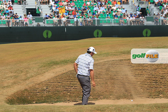 Francesco MOLINARI (ITA)  during round 3 of  The 142th Open Championship Muirfield, Gullane, East Lothian, Scotland 20/7/2013<br /> Picture Fran Caffrey www.golffile.ie: