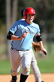 December 29, 2009:  Robert Green (6) of the Baseball Factory Tar Heels team during the Pirate City Baseball Camp & Tournament at Pirate City in Bradenton, Florida.  (Copyright Mike Janes Photography)