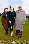 A PROUD DAUGHTER:  New Ring of Kerry Golf Club Captain for 2016 Christina Foley celebrates with her mother Maura and father Tom.