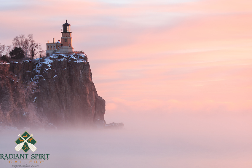 &quot;Split Rock Lighthouse in Sea Smoke&quot;<br />