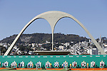 The Ambience Shot,  <br /> AUGUST 5, 2016 - Archery : <br /> Men's Individual Ranking Round <br /> at Sambodromo <br /> during the Rio 2016 Olympic Games in Rio de Janeiro, Brazil. <br /> (Photo by Yusuke Nakanishi/AFLO SPORT)