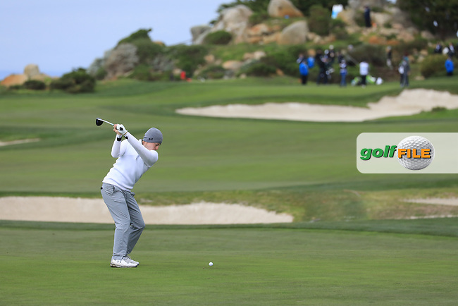 Matthew Fitzpatrick (ENG) in action at Monterey Peninsula Country Club during the second round of the AT&T Pro-Am, Pebble Beach Golf Links, Monterey, USA. 08/02/2019<br /> Picture: Golffile | Phil Inglis<br /> <br /> <br /> All photo usage must carry mandatory copyright credit (© Golffile | Phil Inglis)