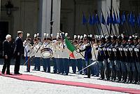 Roma, 20 Giugno 2017<br /> Re Willem Alexander e Sergio Mattarella.<br /> Quirinale<br /> Visita di Stato dei Reali dei Paesi Bassi in Italia